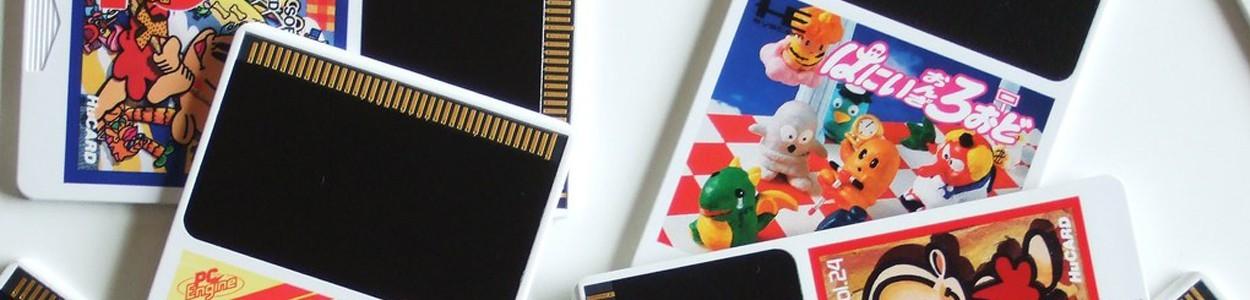 PC ENGINE HU CARD TURBOGRAFX